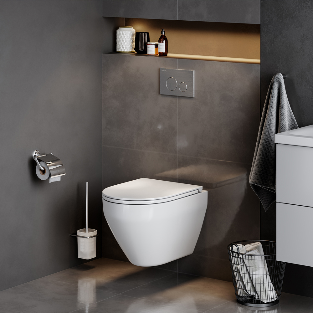 C701700WH Wand-WC FlashClean